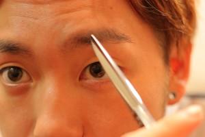 男の眉毛の整え方_IMG_5131