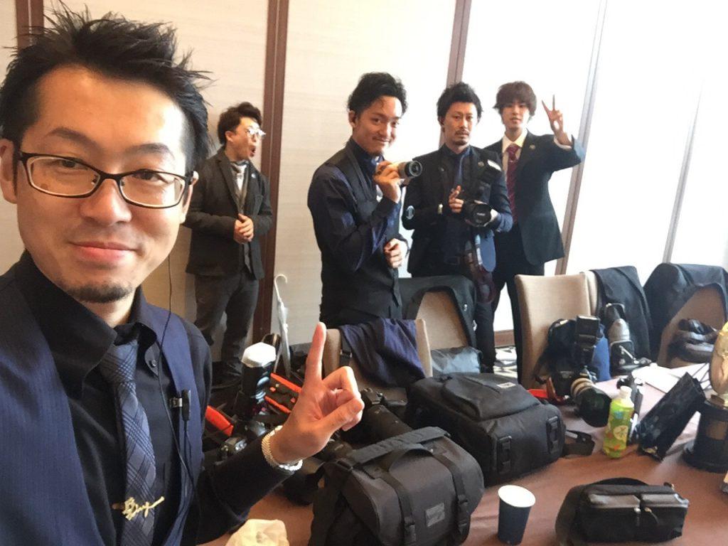 撮影チーム+αです
